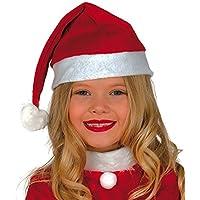 Guirca Gorro Papa Noel infantil, color rojo, talla única (41562.0)