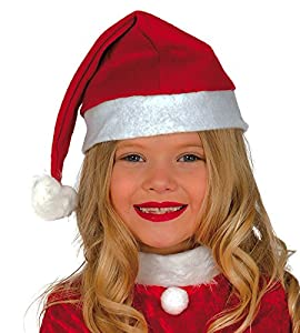Guirca- Gorro Papa Noel infantil, Color rojo, talla única (41562.0)