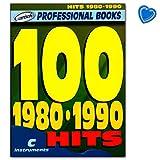 100 Hits 1980-1990 pour instruments de mélodie C : guitare, piano, clavier - Songbook avec pince à partitions multicolores - Verlag Carisch ML2763-9788850712557...