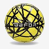 Dafor Balón Fútbol 11 Amarillo (Talla: 5)