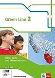 Green Line 2. Ausgabe Baden-Württemberg: Fit für Tests und Klassenarbeiten, Arbeitsheft mit Lösungsheft und CD-ROM Klasse 6 (Green Line. Ausgabe für Baden-Württemberg ab 2016) -