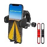 Fahrrad Handyhalterung 360Grad drehbar Smartphone Fahrradhalterung Zinc Alloy Cellphone Halterung / Handlebar Mount / Handlebar Halterung und Handy Halterung für iphone X 8 8 Plus 7 7+ 6S 6S+ 6 6+ SE 5S Samsung Galaxy Note 8 S9 S8 S7 S6 LG G7 G6 HTC zum Radfahren BMX Rasante Abfahrt