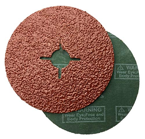 color marr/ón Flap Disco para amoladora angular Platos lijadores de lija grano P 40 2/unidades Falon Tech Disco de l/áminas Di/ámetro 115/mm muelas abrasivas