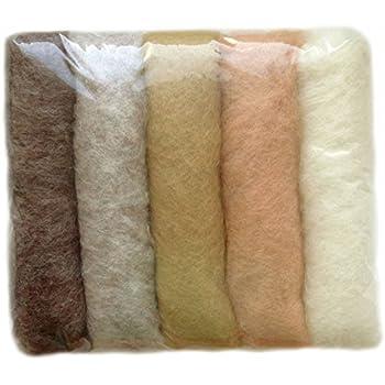 Carded Roving Wool Felting Spinning Craft Hand Wet VK4013 Dark Purple Magenta