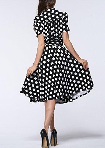 Damen Plus Größe Elegant festliche Kleider ALinie Spitzenkleid ...
