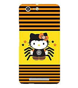 Funny Honey Bee 3D Hard Polycarbonate Designer Back Case Cover for Gionee Marathon M5