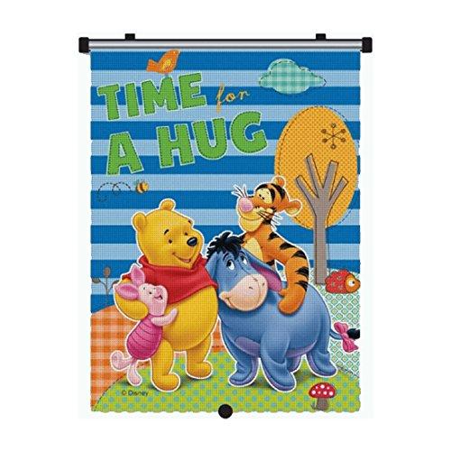 Preisvergleich Produktbild Auto-Sonnenschutz-Rollo für Kinder mit original Disney Winnie Puuh-Motiv