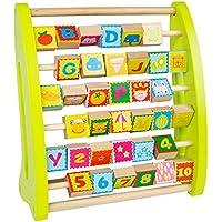 ColorBaby - Ábaco de madera con números y dibujos (43627)