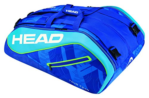 HEAD Tour Team 12R Monstercombi Schlägertasche, Blau, 68 x 40 x 20 cm