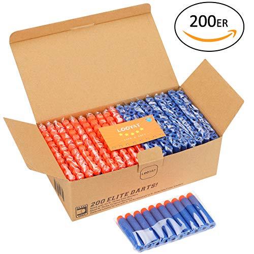 eile für N-Strike Elite Series Blasters Kinder Spielzeug Nerf Darts (Blau) ()