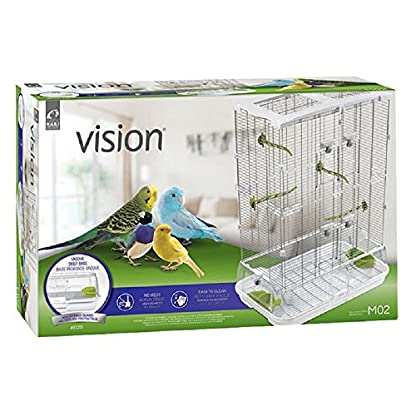 PaylesswithSS Medium Bird Cage Tall Budgies Finches Lovebird Budgies Double Height 2