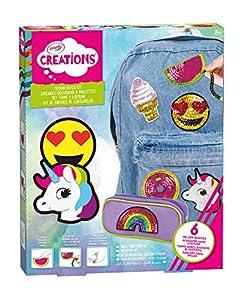Crayola-Juego de parches y lentejuelas Creations para niños, 04-0423
