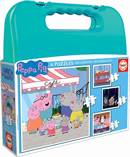 Educa Borrás- Peppa Pig Puzzle, Color Variado (18112)