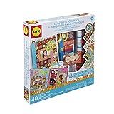 Alex 166W Scrapbook con Materiali Ecologici, Multicolore