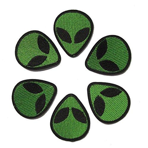 Nuova patch 1PC Alien economico ricamato il ferro sul Applique patch militari per Abbigliamento Grande regalo per uomini e donne / Badge Ramakian