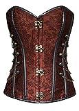 Best Burvogue Bustini - Burvogue da donna Steampunk top corsetto vita formazione Review