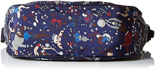 piero guidi Messenger, Borsa a Tracolla Donna, 32 x 28 x 12 cm (W x H x L) Blu