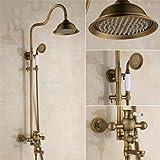 FFJTS Antique Shower - Vintage Kupfer Dusche Set / Dusche Antik Kupfer