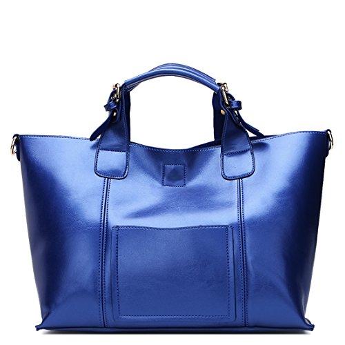 SUXCGE, Borsa a spalla donna Taglia unica Dark Blue New
