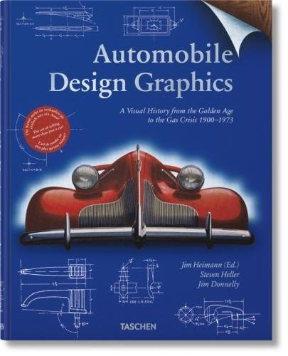 Automobile Design Graphics (Varia) por Jim Heimann; Steven Heller; Jim Donnelly