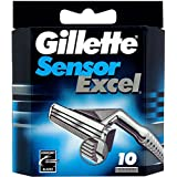 Gillette Sensor Excel 10 Cartridge - Set of 1