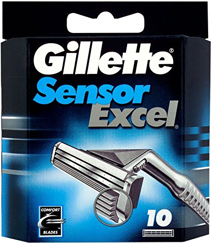 Gillette Sensor Excel 10 Cartridge (pack of 1)  available at amazon for Rs.1349
