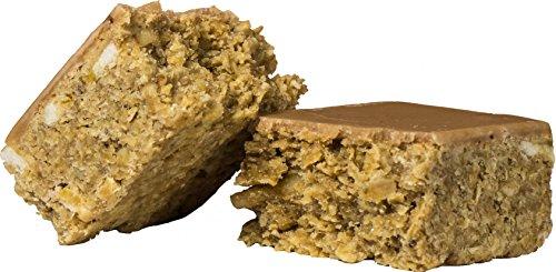 Oat Cake Energieriegel Toffee Banane - Idealer Energy Weight Gainer und Muskelaufbau Booster oder als Protein Riegel Alternative, der Oatsnack + Instant Oats zum Abnehmen 24x 125g =3.000g mre epa - Protein Weight Gainer Bars