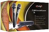 Prodipe TT100 Duo UHF Lanen Pack de deux microphones main sans fil UHF avec récepteur