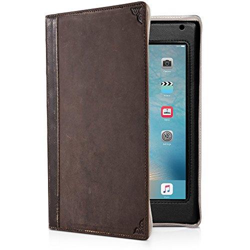 Twelve South BookBook für iPad Mini (1. - 4. Gen.) | Vintage Leder-Buchetui mit Schreibwinkel und Display-Ständer (Bookbook Ipad 3)