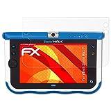 atFoliX VTech Storio Max 7 Anti-choc Film Protecteur - 2 x FX-Shock-Antireflex amortisseur anti-éblouissement Anti-casse Protecteur d'écran