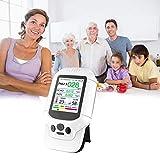 Ingeniously Neueste verbesserte Luftqualität Detektor Meter Monitor mit Farb-LCD-Display und Multifunktions-Betriebssystem für den Indoor Formaldehyd (HCHO) TVOC PM2.5 PM10 -prüfung (weiß)