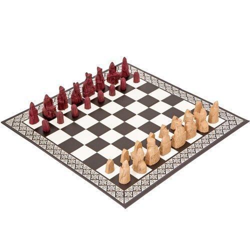 Fantasy Schach (Miniatur Insel von Lewis Schach Set)