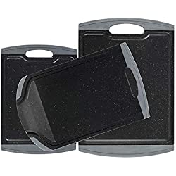 ProCook - Set de Planches à découper antidérapantes 3 pièces Noir