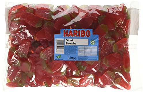 Price comparison product image Haribo Giant Strawbs 3 kg