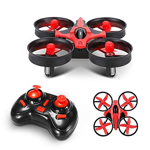 GizmoVine Mini Drone NH-010 RC Drone 2.4 GHz 6-Axis Gyro 3D-Flip UFO Control Remoto Quadcopter RTF con una Clave de Retorno, Modo sin Cabeza, Buen Juguete y Regalo para Niños (Style 1)
