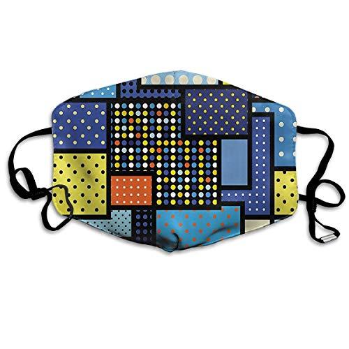 Vbnbvn Unisex Mundmaske,Wiederverwendbar Anti Staub Schutzhülle,Eastern Arabesque Adult Fashion Mouth-Masks Washable Safety 100% Polyester Comfortable Breathable Health Anti-Dust Half Face Masks