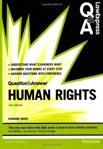 Human Rights (Law Express Questions & Answers) by Davis, Howard (2013) Paperback