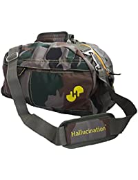 Hallucination Unisex Duffel Bag For Women Men For Gym Travel Yoga Sports, Casual, Funky & Vibrant