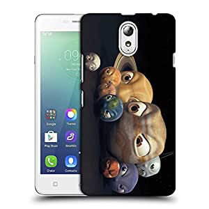 Snoogg Angry Planets Designer Protective Back Case Cover For LENOVO VIBE P1