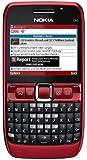 Nokia E63 ruby red (QWERTZ-Tastatur, Ovi, UKW-Stereo-Radio, UMTS, GPRS, Nokia Maps, 2 MP) Smartphone