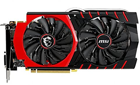 MSI GTX 970 Édition Gaming 4G Carte graphique Nvidia PCI Express 4 (Twin Turbo Fan)