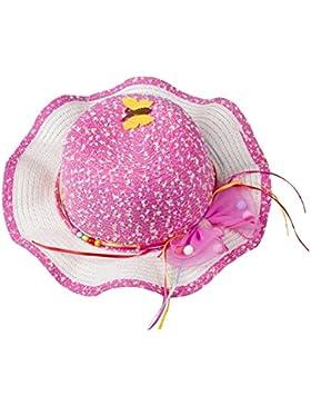 Leisial Cappello da sole esterno del cappello della spiaggia dei bambini di lato dell'onda del Rainbow Cappello...