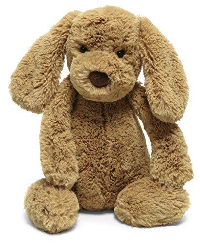 Image of Jellycat Bashful Toffee Puppy, Medium - 12 Size: Medium - 12, Model: BAS3TPUS, Toys & Gaems