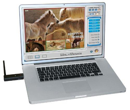 Kerbl 1078 USB Multikamera-Antenne 2,4 Gh -