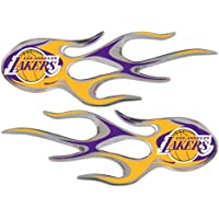 Los Angeles Lakers Micro Flames Graphics by