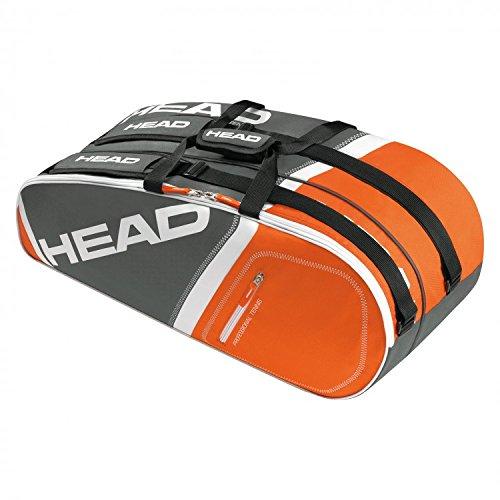 Head Core Tasche für 6Schläger Gris/Orange