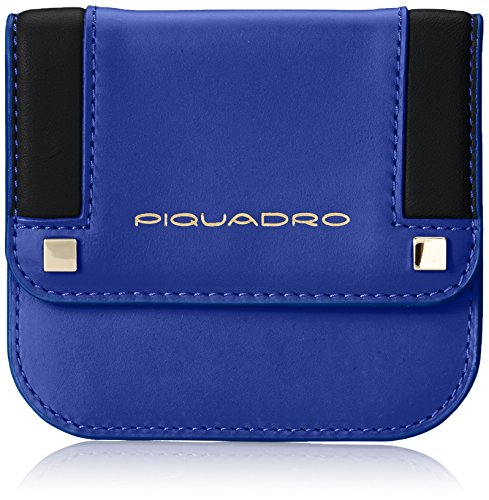 Piquadro PP3689S83/BLU Rand Portafoglio, Blu