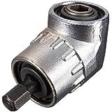 JTENG Winkelschrauber Vorsatz Adapter mit 1/4-Zoll Schnellwechsel- und magnetischen Bit Halter, Winkelschraubendreher Winkelgetriebe Winkelgetriebevorsatz Winkelbohrmaschine
