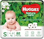 Huggies Nature Care Pants, Small Size Diaper Pants, 82 Count
