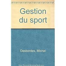 Gestion du sport